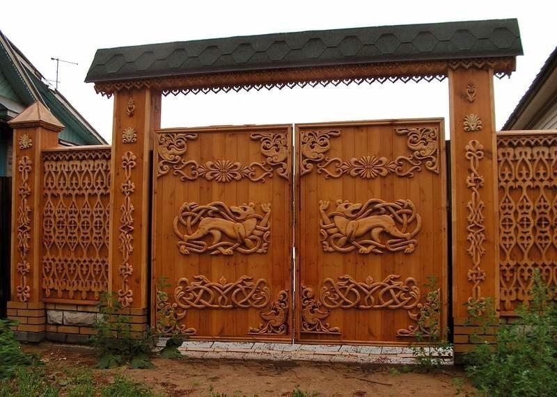 Оригінальні ворота для вашої садової ділянки