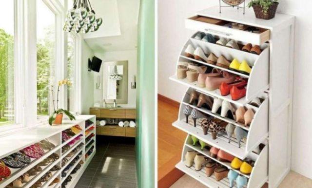 Чи можливе зберігання взуття взимку на балконі?